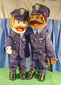 Policemen The Puppet Gallery